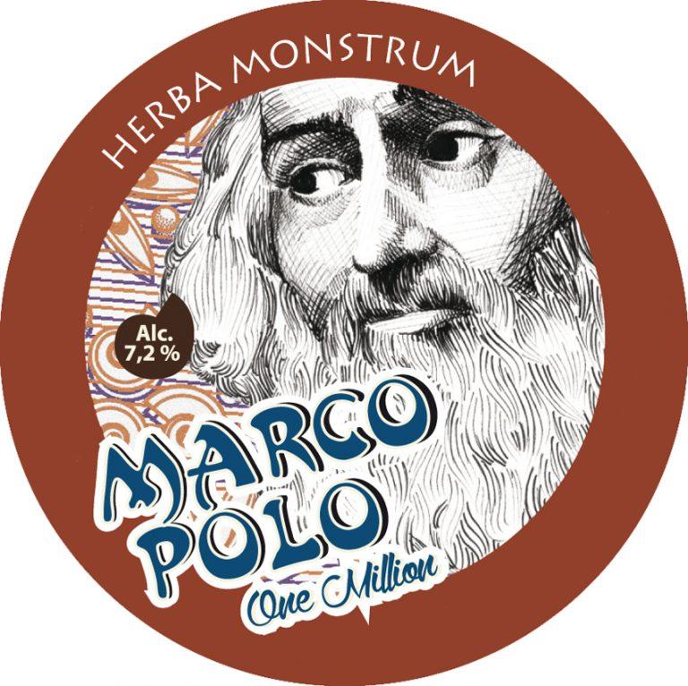 Etichetta Marco Polo One Million - Herba Monstrum