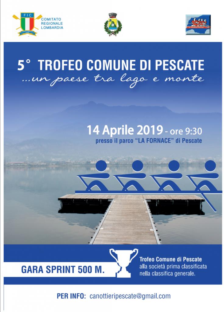 14 aprile 2019 5^ edizione della Gara Sprint di canottaggio sui 500 metri organizzata dalla A.S.D. Canottieri Pescate e dal Comitato Regionale Lombardia @ Parco La Fornace. Herba Monstrum, birre artigianali alla spina: Marco Polo Primavera.