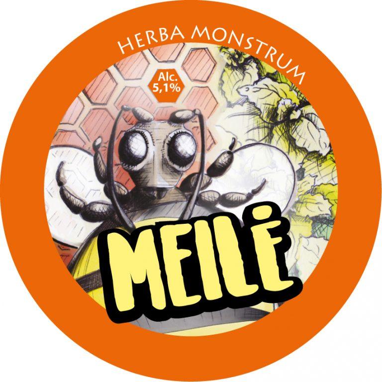 Etichetta Meilè - Herba Monstrum