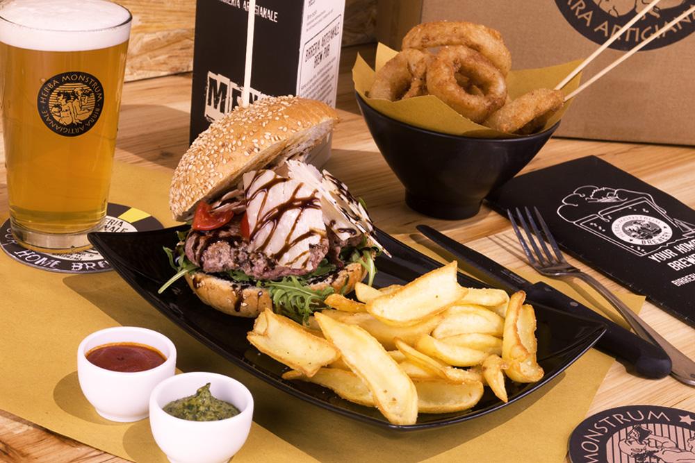 Hamburger: Italian Style - Herba Monstrum, Galbiate Lecco