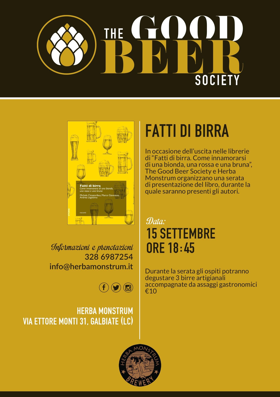 Fatti di Birra 2016 - Birreria artigianale Herba Monstrum, Galbiate Lecco