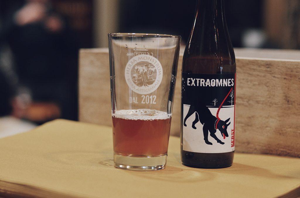 Degustazione birre con Kuaska, Herba Monstrum. Birre artigianali Lecco. Kerst, Extraomnes