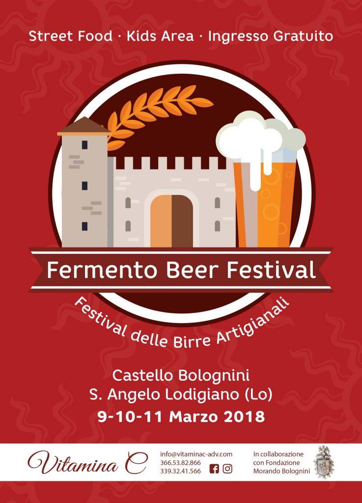 Fermento Beer Festival - Herba Monstrum, Castello di Sant'Angelo Lodigiano. 9 10 11 marzo 2018
