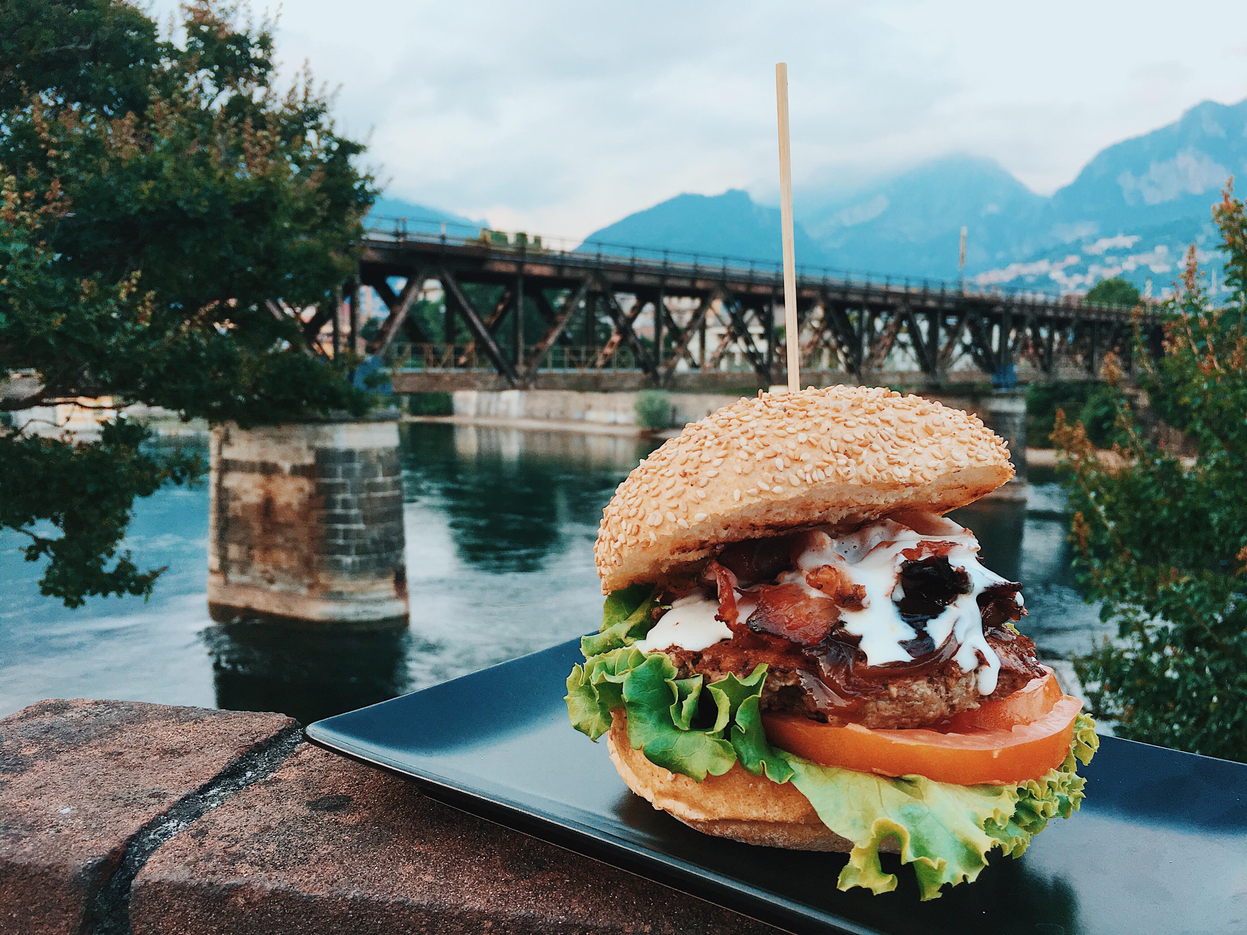 Booyaka, speciale hamburger! Buon compleanno Herba Monstrum. Parco Ludico Galbiate, 14 luglio 2018