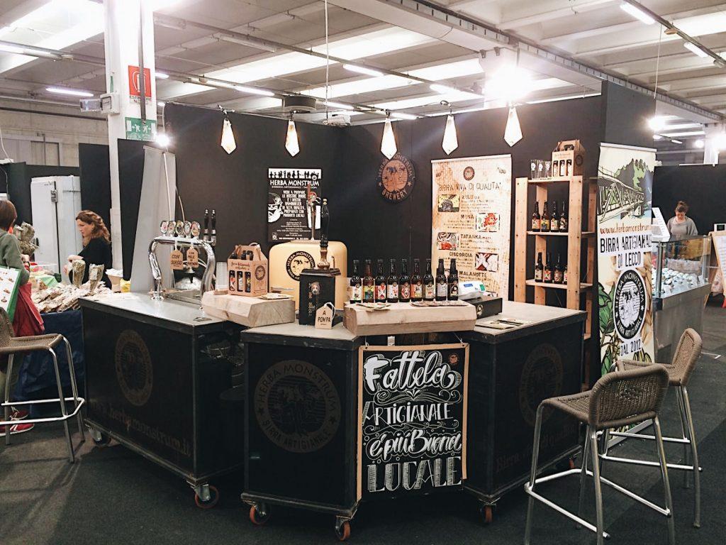 Dal 25 al 28 aprile 2019 Agrinatura, Lariofiere Erba. Herba Monstrum Brewery, birre artigianali.