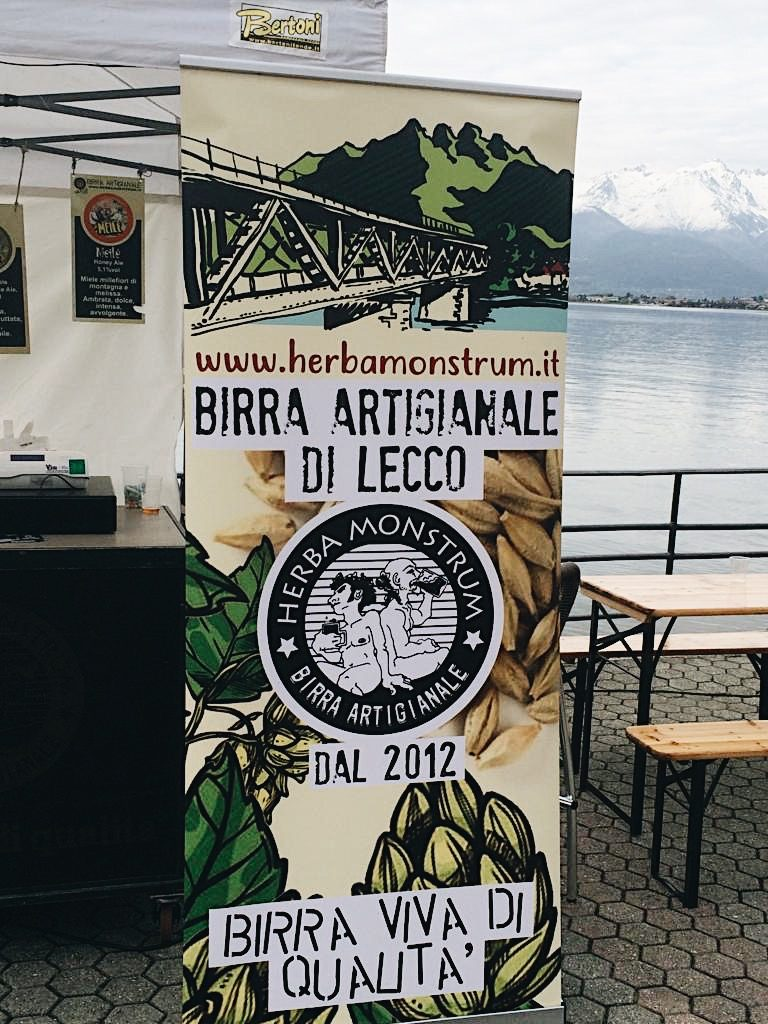 5 6 7 aprile 2019 Rock Street Food, Bellano. Herba Monstrum, panini, piatti vegetariani, birre artigianali alla spina.