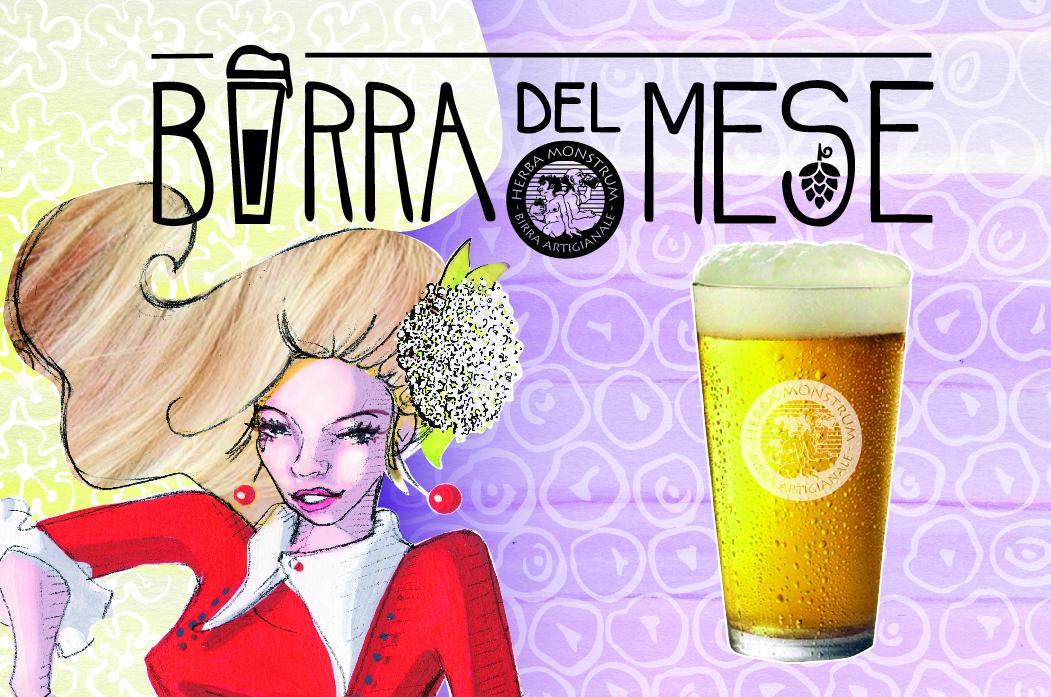 Serrada, birra di Maggio 2019. Herba Monstrum Brewery via Ettore Monti, 29, 23851 in zona Ponte Azzone Visconti Lecco.