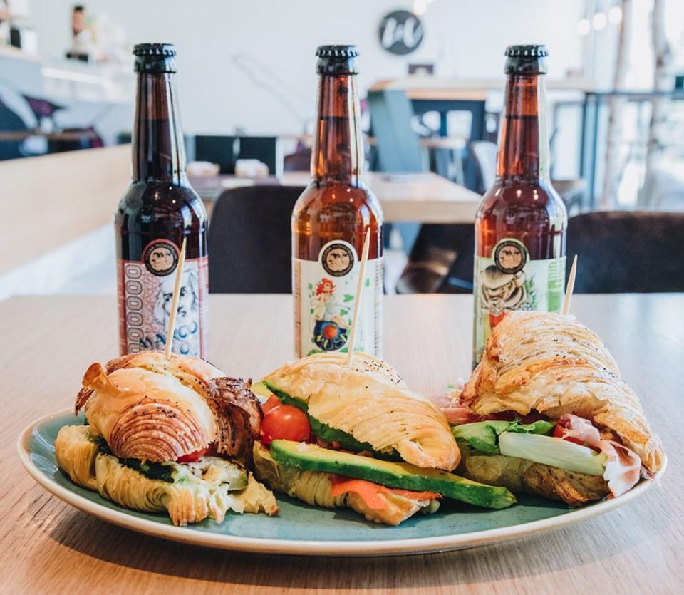 Le nostre birre da ZENZERO E CANNELLA a Eupilio, pausa pranzo. Herba Monstrum Brewery via Ettore Monti, 29, 23851 in zona Ponte Azzone Visconti Lecco.