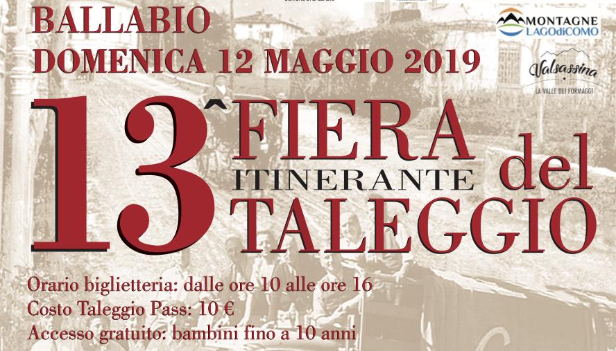 13 FIERA del Taleggio, Ballabio. Domenica 12 maggio 2019. Herba Monstrum Brewery via Ettore Monti, 29, 23851 in zona Ponte Azzone Visconti Lecco.