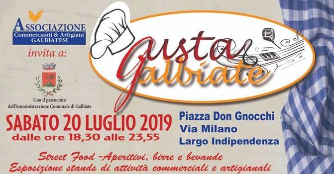 Gusta Galbiate 2019 Sabato 20 luglio, birre artigianali alla spina di Herba Monstrum Brewery.