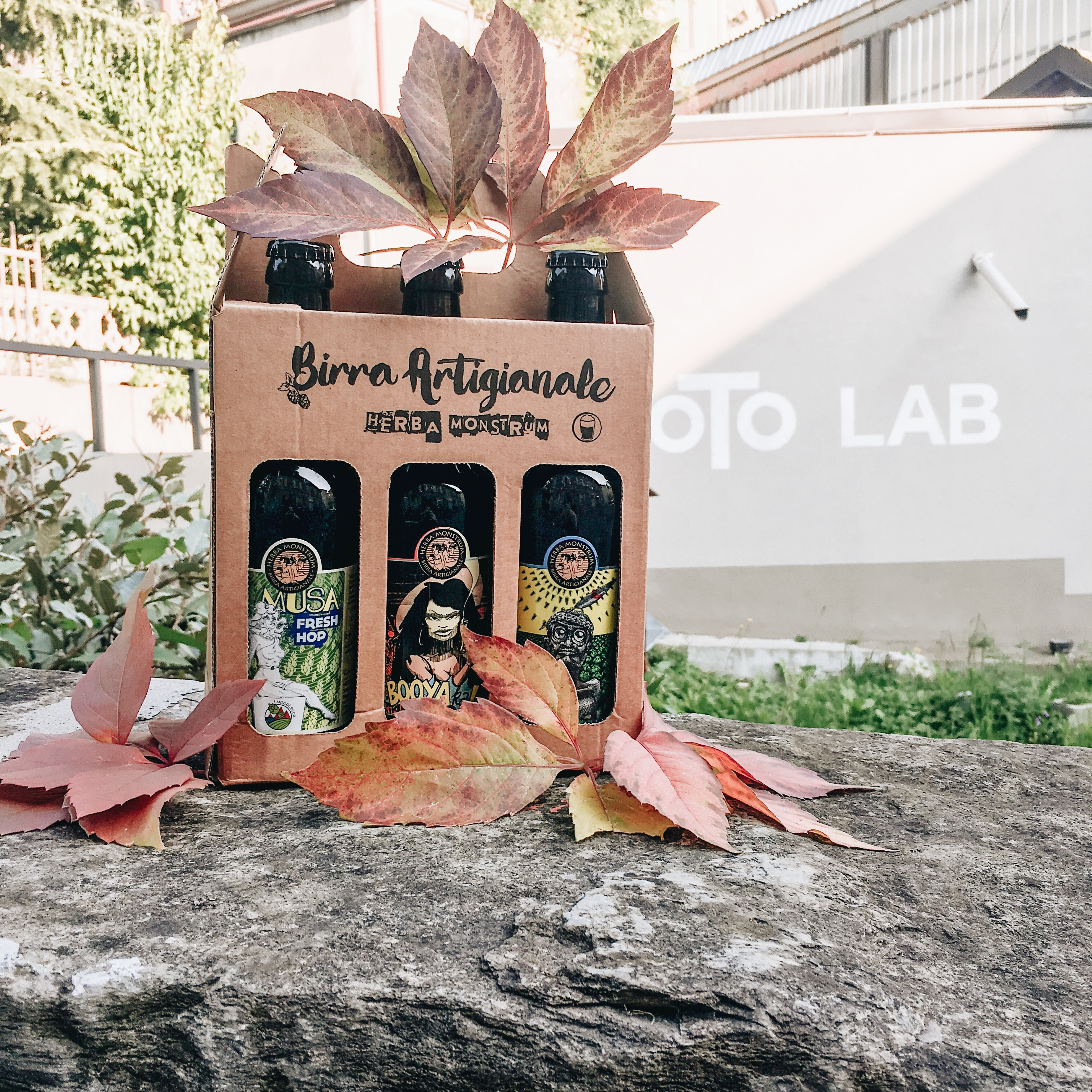 Domenica 20 ottobre 2019 FAL LAB, Oto Lab. Herba Monstrum, birre artigianali alla spina.