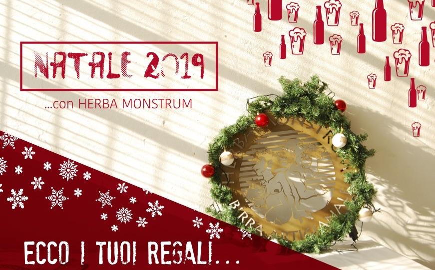 Regali di Natale 2019 Herba Monstrum Brewery via Ettore Monti, 29, 23851 in zona Ponte Azzone Visconti Lecco.