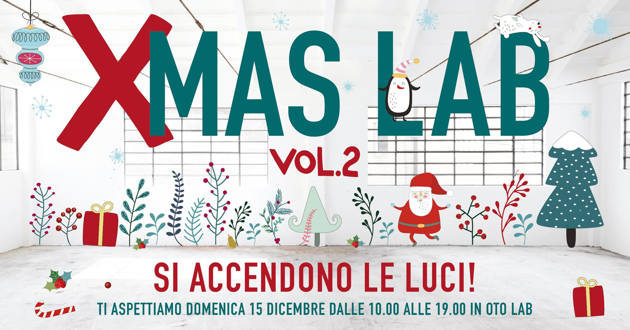 Domenica 15 dicembre 2019 XMAS LAB, Oto Lab. Herba Monstrum, birre artigianali alla spina. Rancio, Lecco. Via Mazzucconi 12, 23900