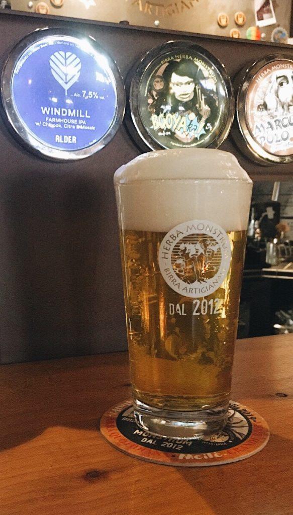 Alder Beer WINDMILL - Farmhouse India Pale Ale 7,5% Herba Monstrum Brewery via Ettore Monti, 29, 23851 in zona Ponte Azzone Visconti Lecco.