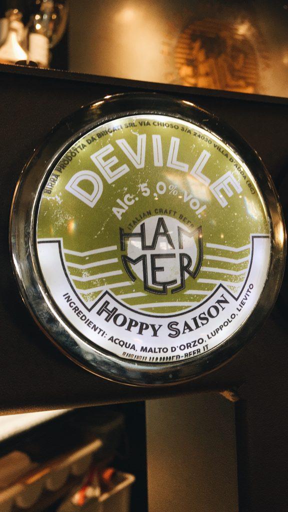 Hammer Beer DEVILLE - Hoppy Saison 5% Herba Monstrum Brewery via Ettore Monti, 29, 23851 in zona Ponte Azzone Visconti Lecco.