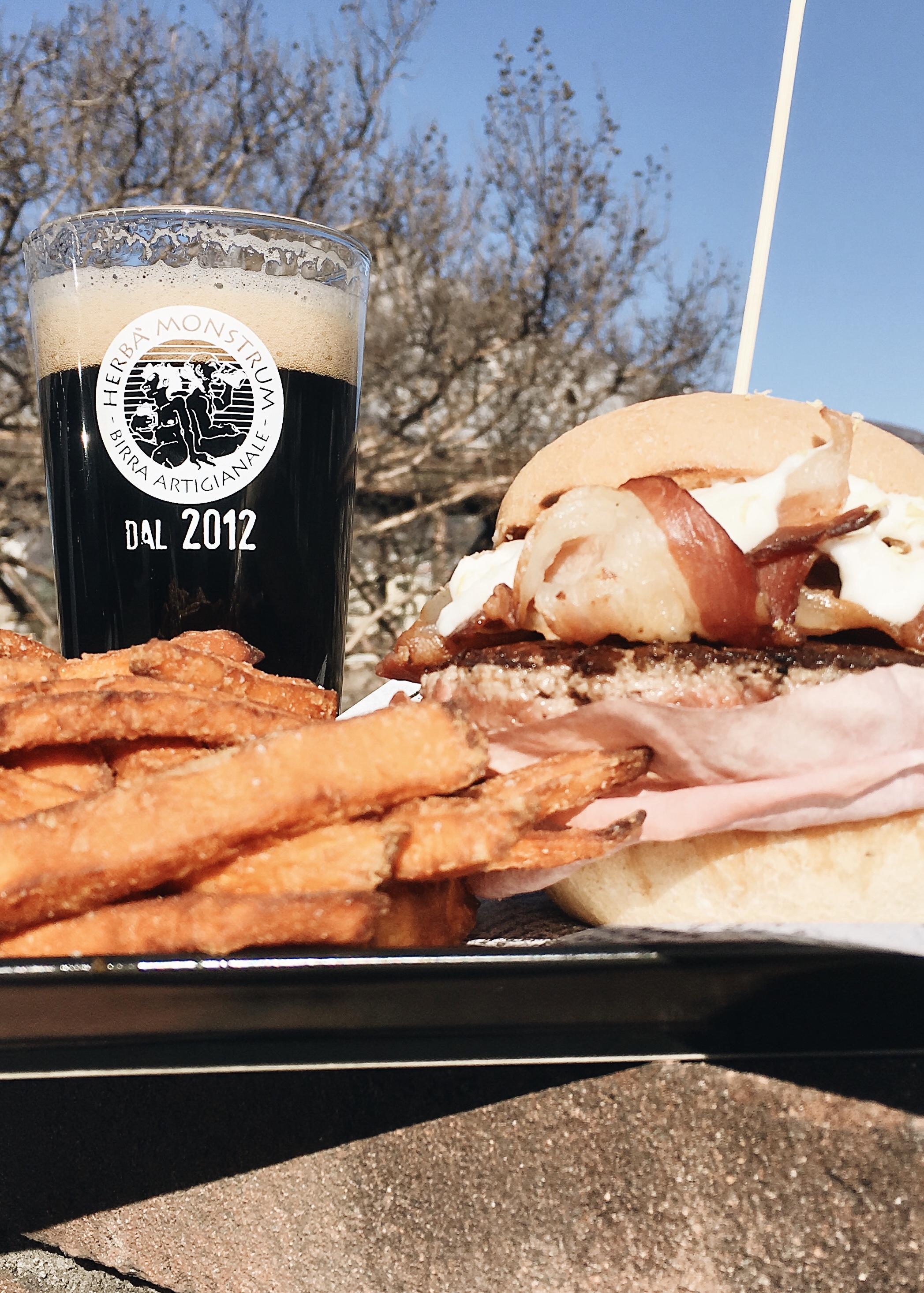 Le nostre artigianali a domicilio! Aprile 2020 i hamburger direttamente a casa Cosaordino.it! Herba Monstrum Brewery via Ettore Monti, 29, 23851 in zona Ponte Azzone Visconti Lecco.