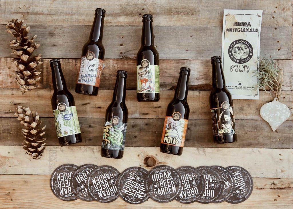 Regali di Natale 2020 BOX 6 o BOX 12 6 o 12 bottiglie da 33cl a scelta tra tutte le nostre artigianali Herba Monstrum Brewery via Ettore Monti, 29, 23851 in zona Ponte Azzone Visconti Lecco. Birre artigianali Lecco.