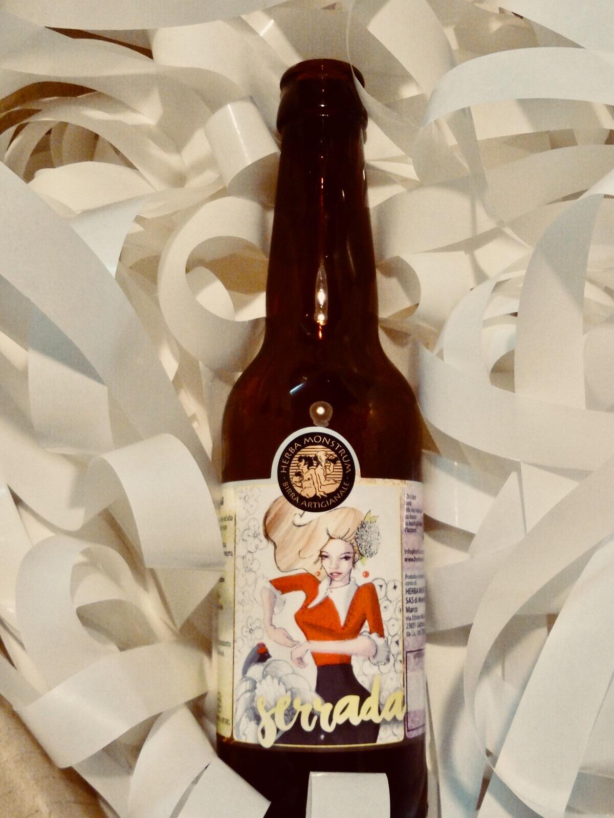 Serrada, la nuova birra artigianale di Herba Monstrum Brewery. Galbiate, Lecco