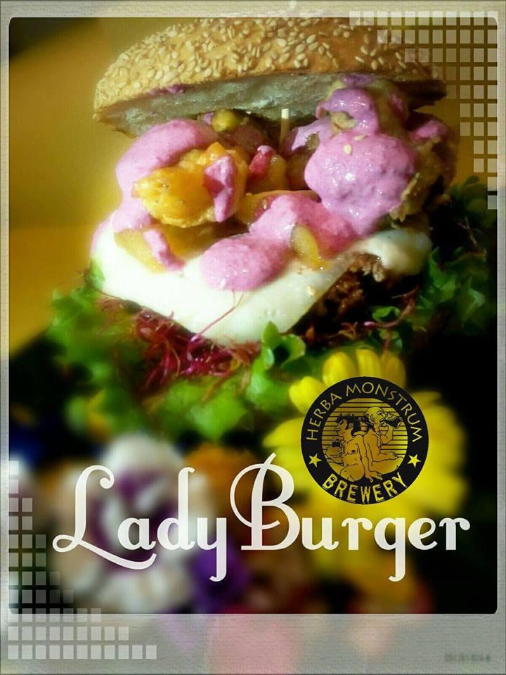 8 marzo 2018 - Lady Burger, Festa della Donna Da Herba Monstrum Brewery in via Ettore Monti, 29, 23851 in zona Ponte Azzone Visconti Lecco