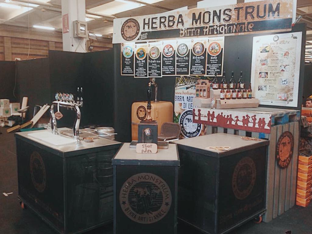 Herba Monstrum Brewery, Via Ettore Monti, 29, 23851 in zona Ponte Azzone Visconti Lecco. Esposizione Agrinatura 2018 Lariofiere Erba