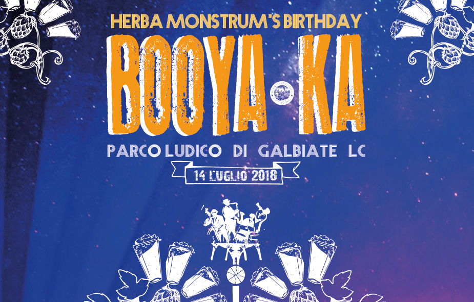 Booyaka! Buon compleanno Herba Monstrum. Parco Ludico Galbiate, 14 luglio 2018