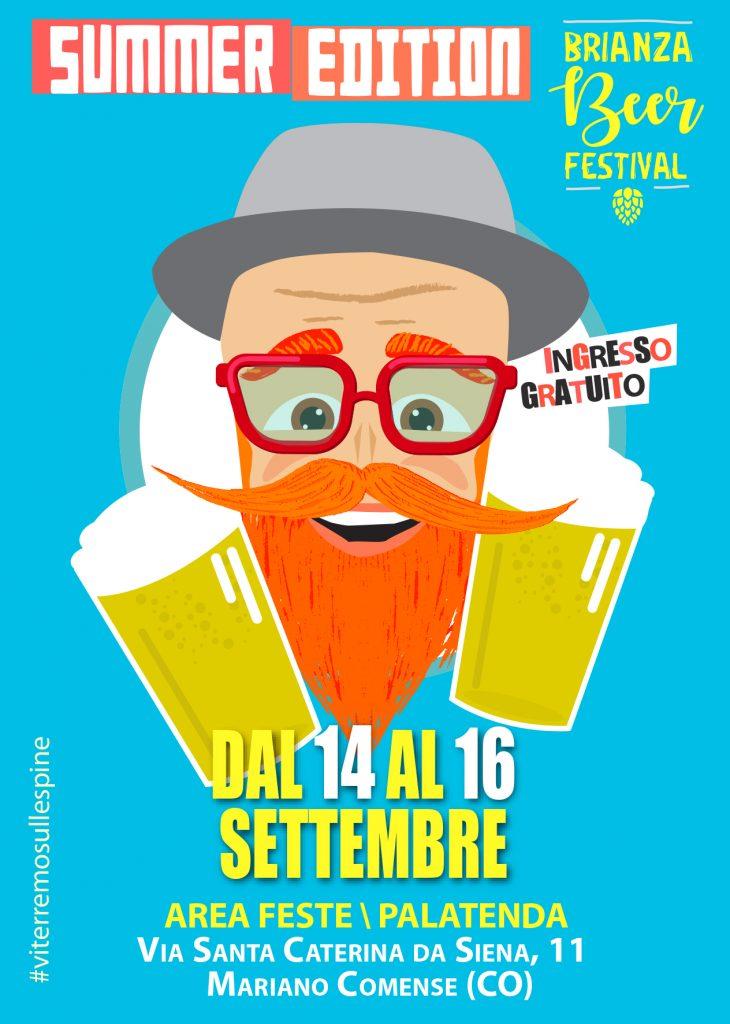 BBF Brianza Beer Festival 2018 Summer Edition a Mariano Comense. Herba Monstrum Brewery. Meilè, Musa, Tatanka, Zulu Ipa, Discordia e Booyaka