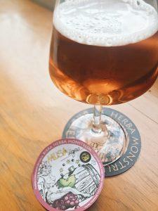 Musa IGA, Golden Ale 6,5% con mosto d'uva. Herba Monstrum Brewery via Ettore Monti, 29, 23851 in zona Ponte Azzone Visconti Lecco.