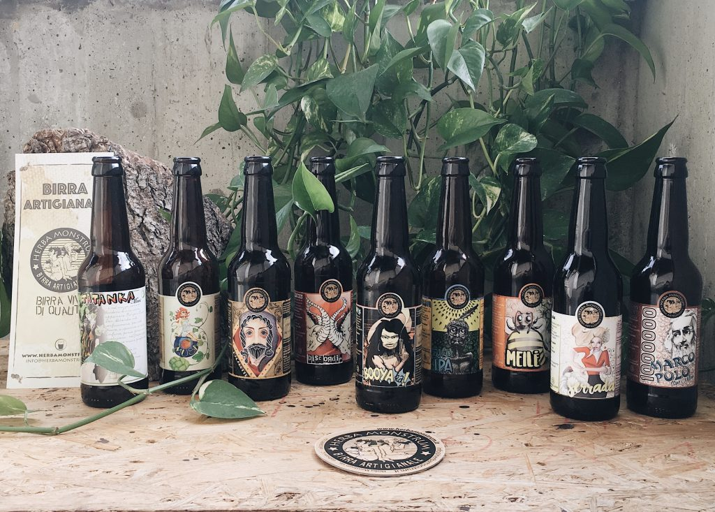 Le nostre artigianali a domicilio! Herba Monstrum Brewery via Ettore Monti, 29, 23851 in zona Ponte Azzone Visconti Lecco.